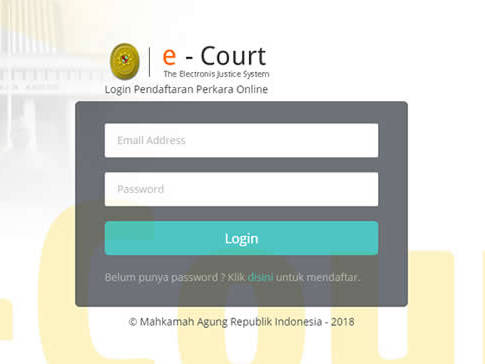 Layanan e-Court